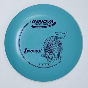 DX Leopard understable fairway driver sky