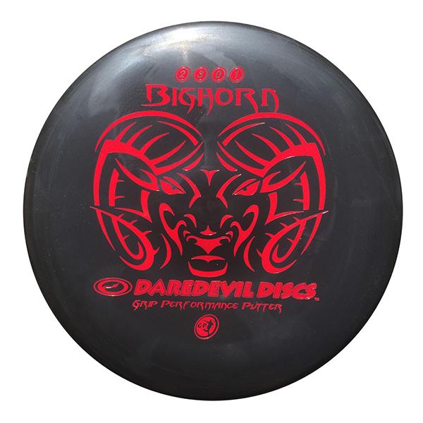 Daredevil Disc Golf Bighorn Putter black
