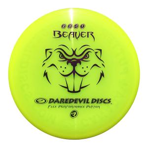 Daredevil Disc Golf Disc kopen Flexible Putter FP Beaver Yellow disc golf scheibe kaufen