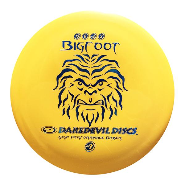 Daredevil Disc Golf Discs GP Bigfoot yellow distance driver