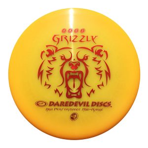 Daredevil Disc Golf Discs HP Grizzly orange Midrange disc golf disc