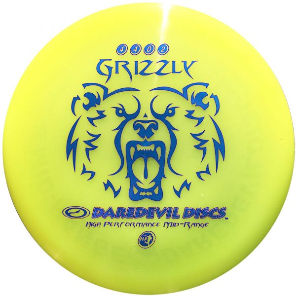 Frisbeewinkel.nl - Grizzly HP Midrange Disc Blauwe Print