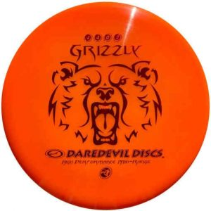 Daredevil_Grizzly_overstable_midrange_frisbee_voor_disc_golf_oranje