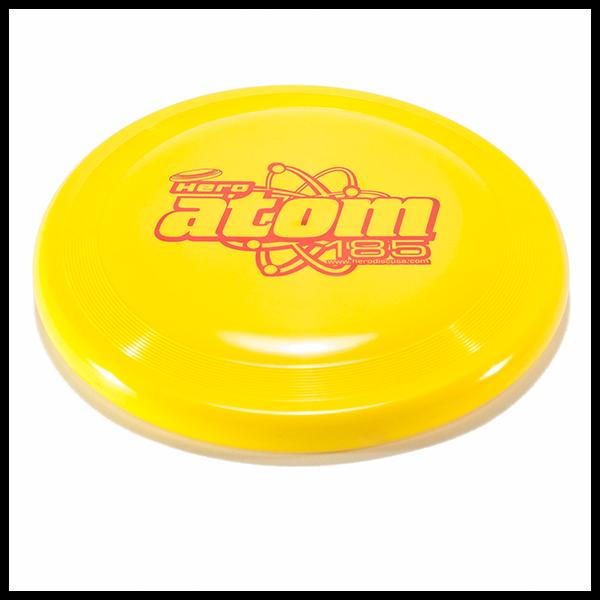 Hero Super Atom Candy Soft 185 dog frisbee - yellow