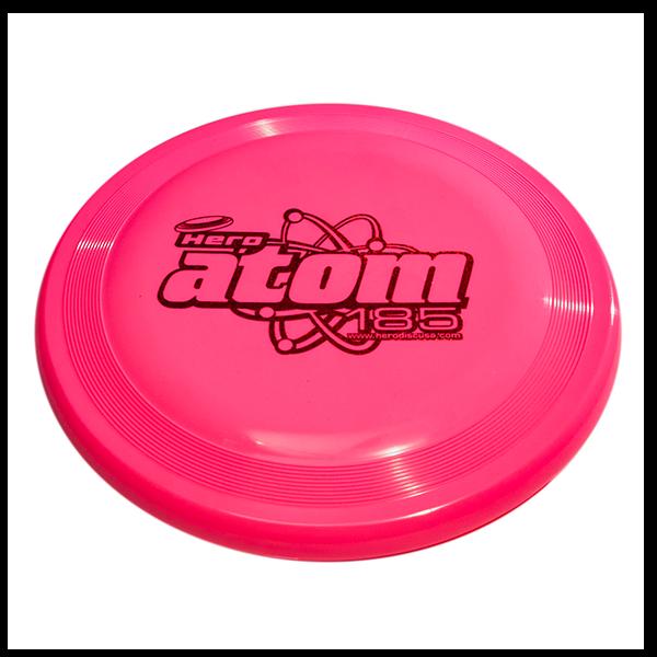 Hero Super Atom Candy Soft 185 dog frisbee - pink