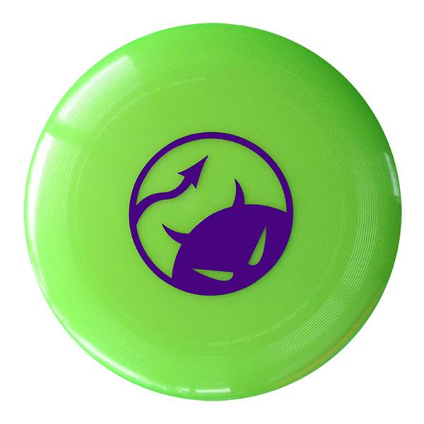Daredevil wedstrijdfrisbee logo lime