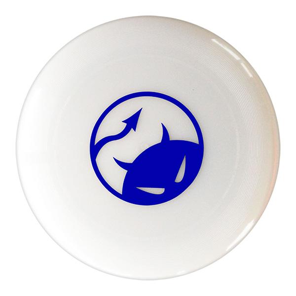 Daredevil wedstrijdfrisbee logo pearl