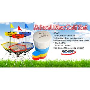 Frisbeewinkel - Discgolf Portable Scholenset