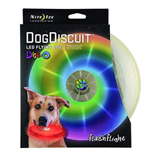 FlashFlight Dog Discuit - Disco LED