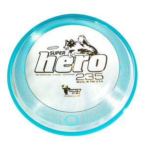 Hero Super Hero 235 dogfrisbee blue
