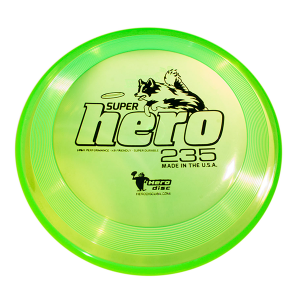 Hero Super Hero 235 dogfrisbee green