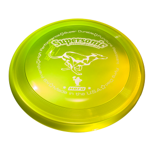 Hero Supersonic 215 dog frisbee yellow