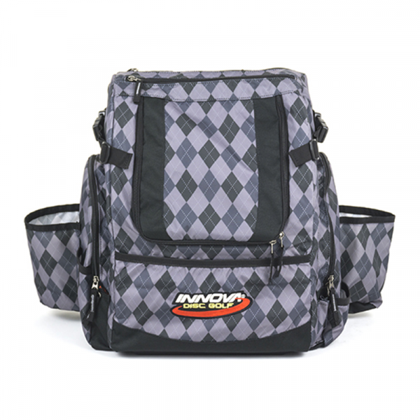 Frisbeewinkel - Innova Hero Backpack Black Argyle