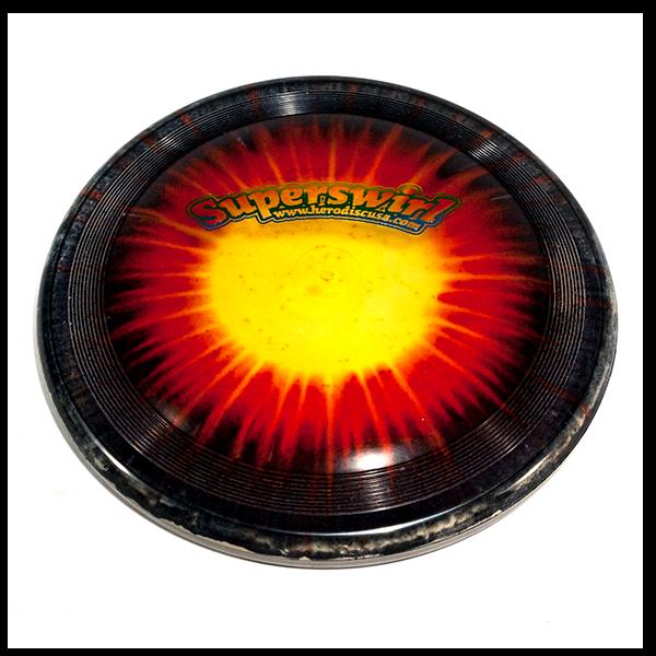 Mooie Dogfrisbee kopen kaufen Super Hero 235 Ice Dye