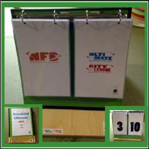 Frisbeewinkel - Scorebord NFB
