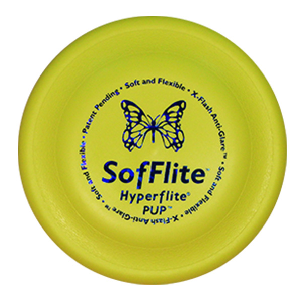 SofFlite Pup Hondenfrisbee