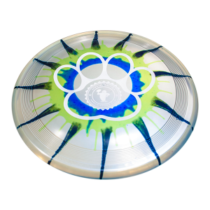 Sonic Ice Dye 215 design paw outline custom stamp dogfrisbee
