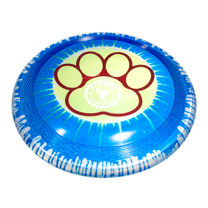 Sonic Ice Dye 215 paw design outline custom dogfrisbee stamp