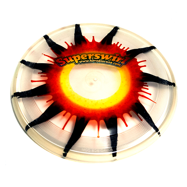 Super Hero 235 Ice Dye Dogfrisbee stamp