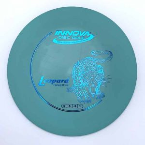 Innova DX Leopard Blue Understable fairway driver disc Golf