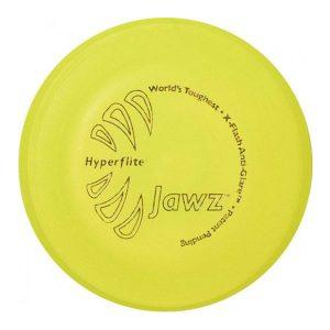 Jawz Hyperflex Dogfrisbee geel