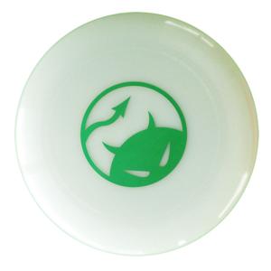 Wedstrijdfrisbee logo glow