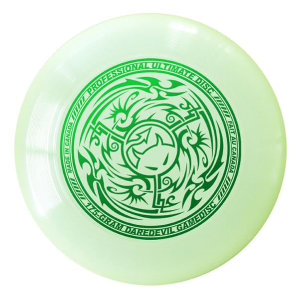 Wedstrijdfrisbee tribal Glow - Groen