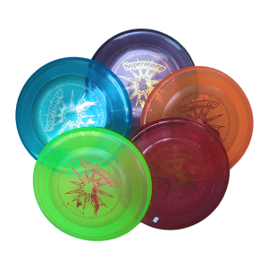 5 pack Super Hero dogfrisbee