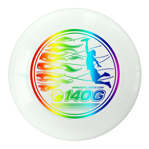 Junior Ultimate Disc White Rainbow
