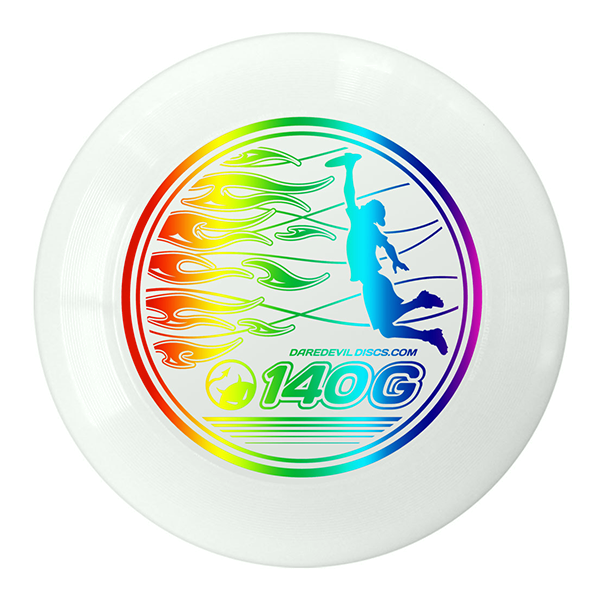 Junioren Ultimate Disc Wit Regenboog