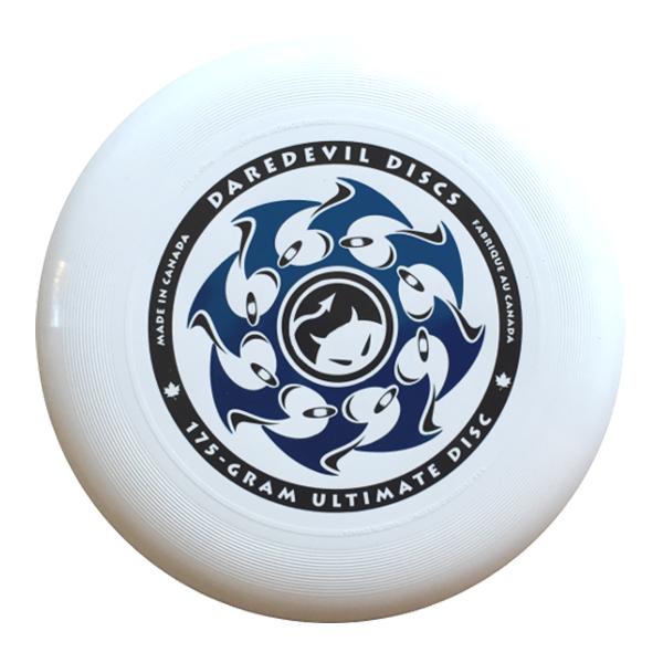 Wedstrijdfrisbee Classic Wit-Blauw