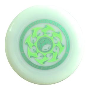 Wedstrijdfrisbee glow classic green