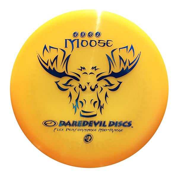 Daredevil Disc Golf Disc kopen Flexible Midrange FP Moose Orange disc golf scheibe kaufen