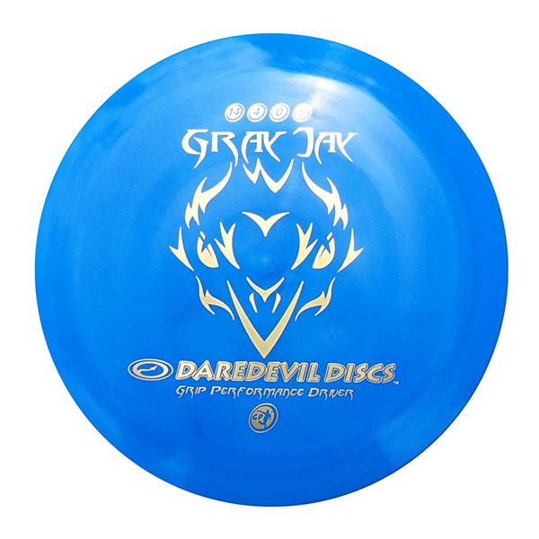 Daredevil Disc Golf Discs GP Gray Jay blue distance driver