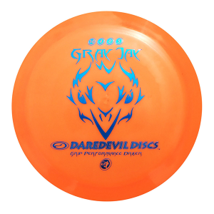 Daredevil Disc Golf Discs GP Gray Jay orange distance driver
