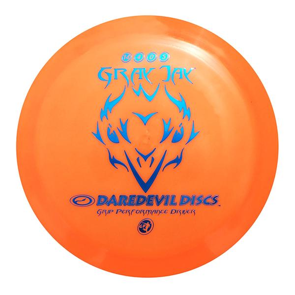 Daredevil Disc Golf Discs GP Gray Jay orange distance driver