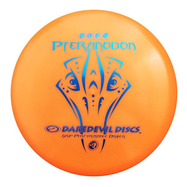 Daredevil Disc Golf Discs GP Pteranodon orange midrange disc