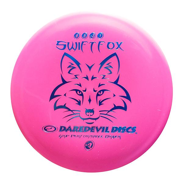 Daredevil Disc Golf Discs GP Swift Fox pink distance driver
