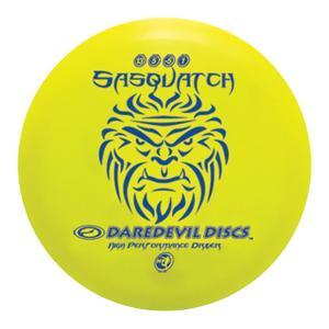 Daredevil Disc Golf Discs HP Sasquatch distance driver Yellow
