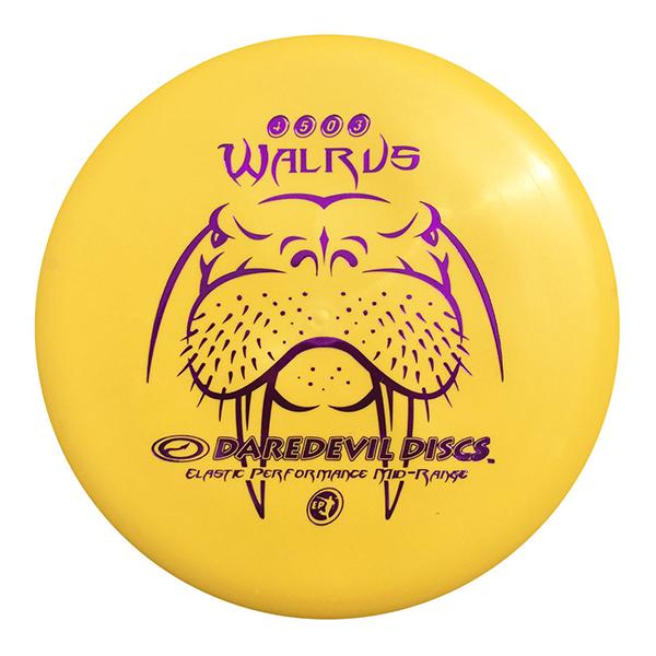 Daredevil Disc Golf Midrange Discs EP Walrus Max control Fire