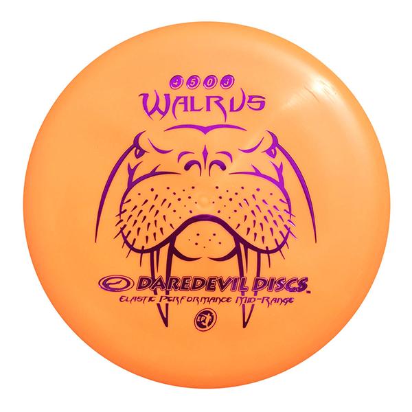 Daredevil Disc Golf Midrange Discs EP Walrus Max control Orange