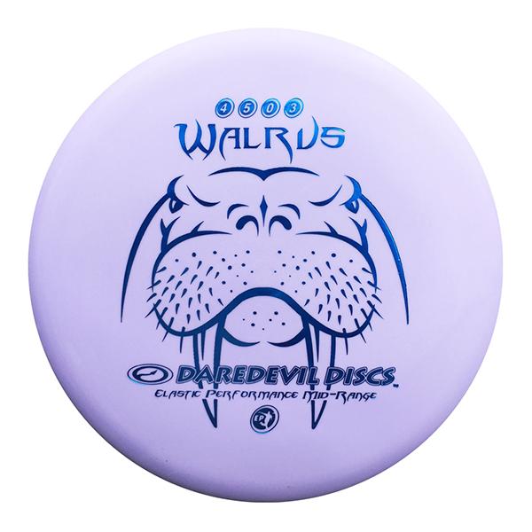 Daredevil Disc Golf Midrange Discs EP Walrus Max control Purple