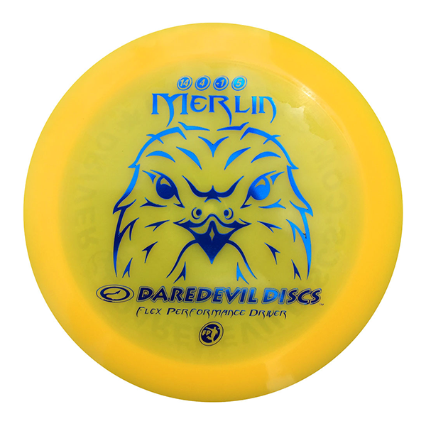 Daredevil Disc Golf distance driver frisbee kopen Flexible FP Merlin orange