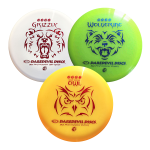 Daredevil High Performance Disc Golf set 3 Discs