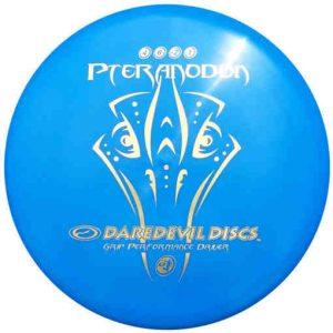 Daredevil-pteranodon-midrange-disc-golf-disc-glide-voor-beginners-blauw