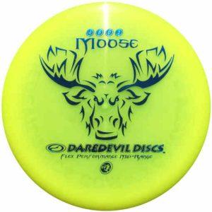 Daredevil_moose_flex_performance_midrange_disc_for_disc_golf_frisbee_yellow