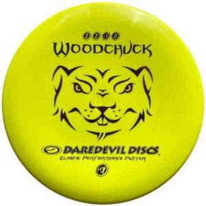 Daredevil_woodchuck_soft_Disc_Golf_Frisbee_Putter_voor_beginners-yellow