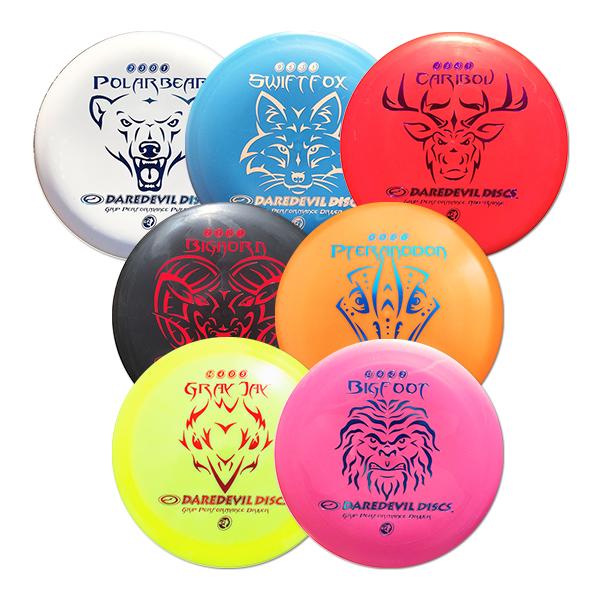 Grip Performance Disc golf set 7 discs