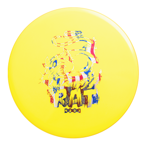 Star Rat midrange forehand approach frisbee disc golf schijf