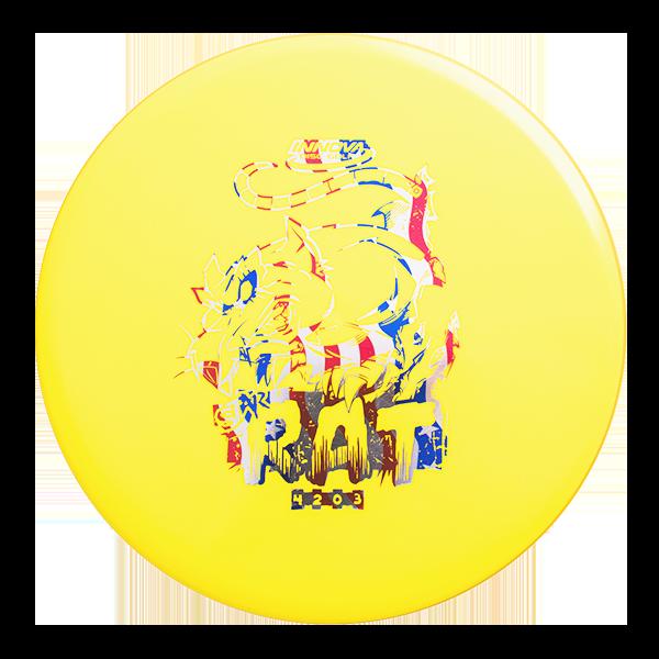 Star Rat midrange forehand approach frisbee disc golf schijf